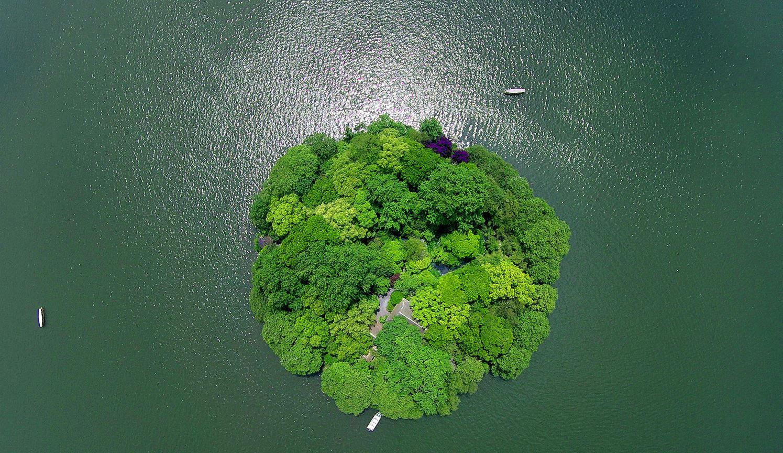 Остров Руангондун. Г. Ханчжоу, пр. Чжэцзян.