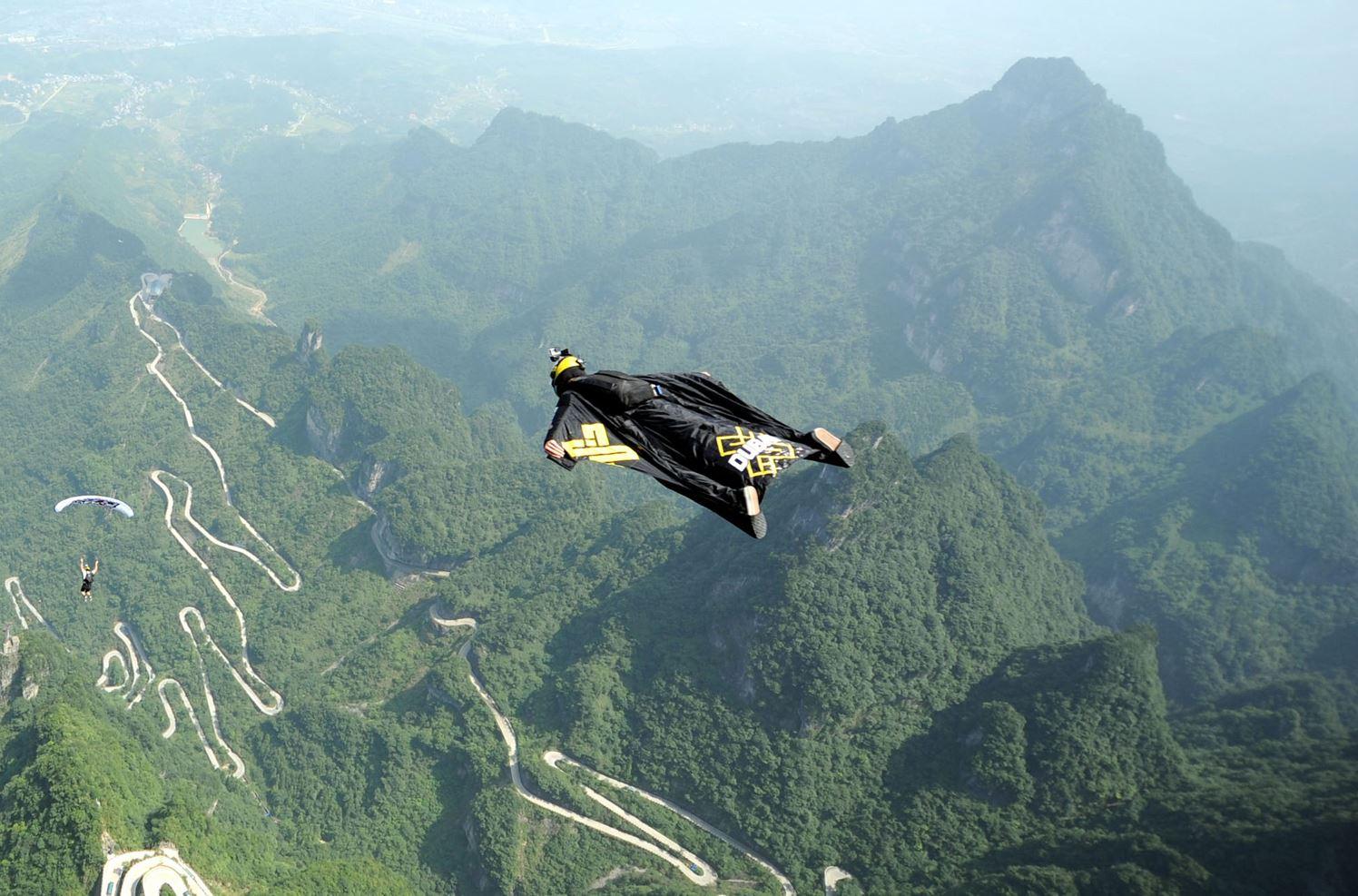 Горы Тяньмэнь в г. о. Чжанцзяцзе, пр. Хунань.